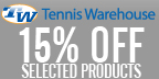 Save 15% at Tennis Warehouse